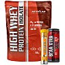 High Whey Protein Isolate + BCAA Xtra + Flexactive