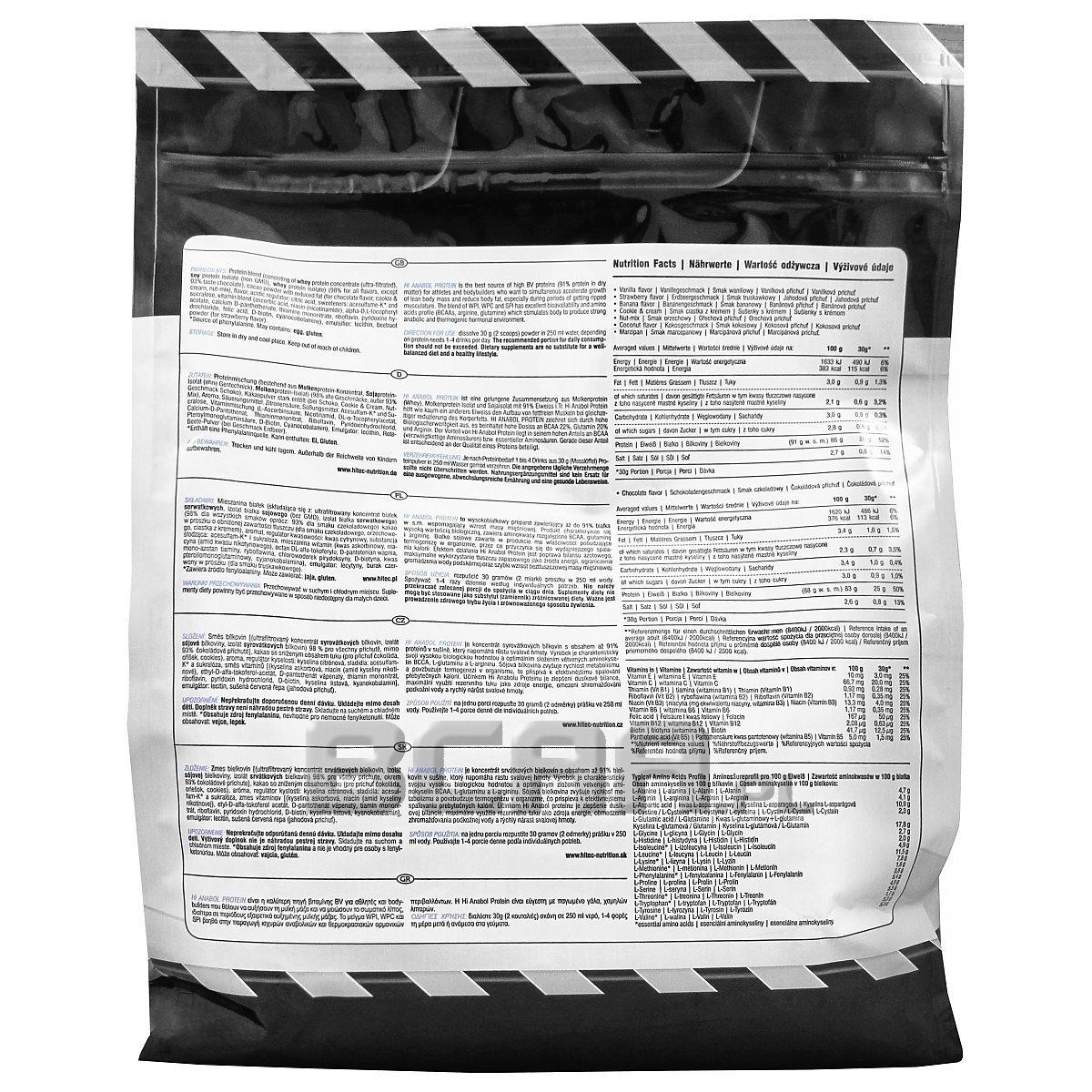 sklep internetowy niska cena super jakość Hi Tec Hi Anabol Protein 2250g