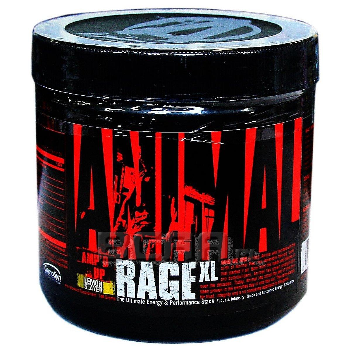 d7a77767e549 Animal Rage XL Universal 148g Wyprzedaż! • Sklep BCAA.pl
