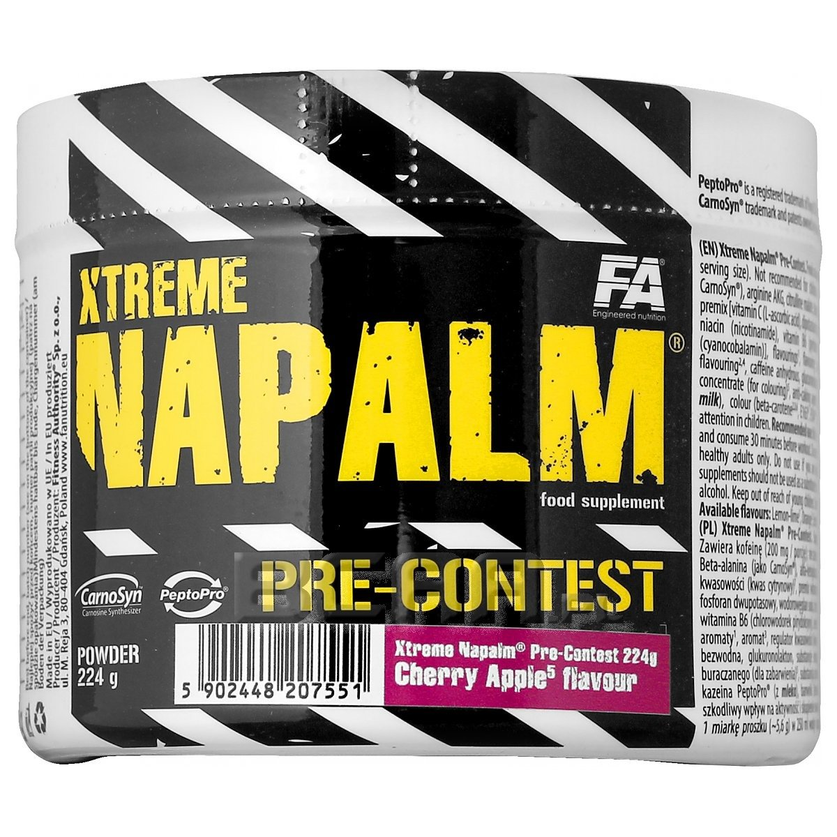 ae5e4100f655 Xtreme Napalm Pre-Contest Fitness Authority 224g  promocja  • Sklep ...