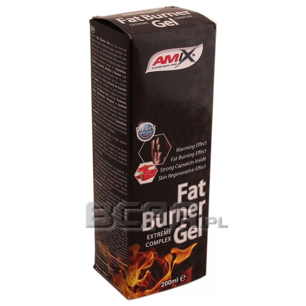 amix fat burner gel foro