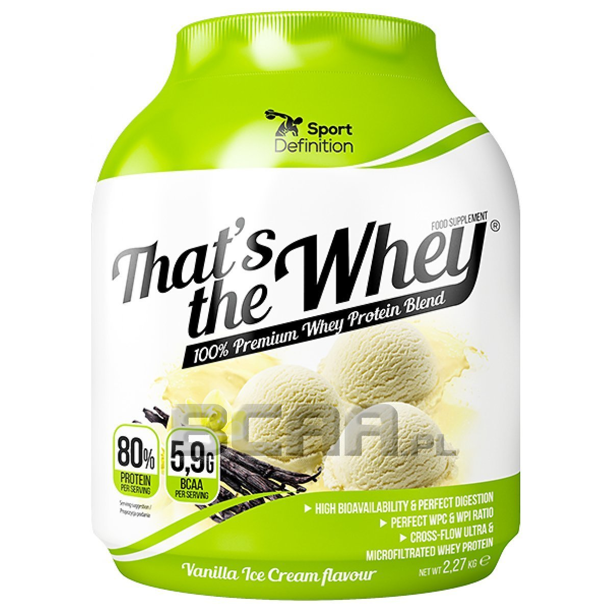that's the whey sport definition 2270g [promocja] • sklep bcaa.pl