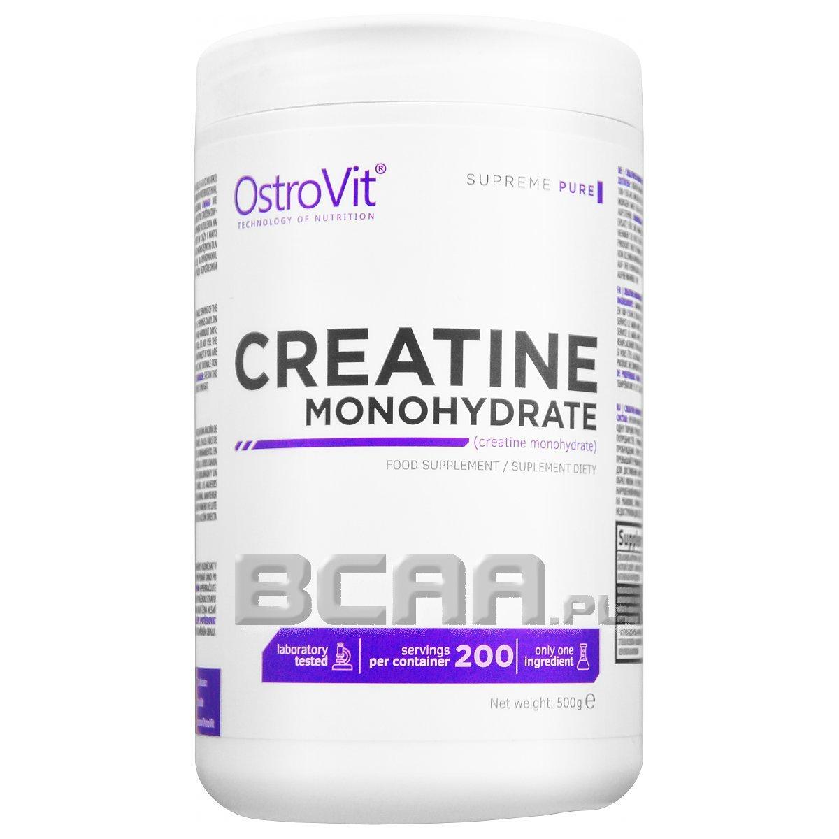 c67fa43567a5 Supreme Pure Monohydrate Creatine OstroVit 500g • Sklep BCAA.pl