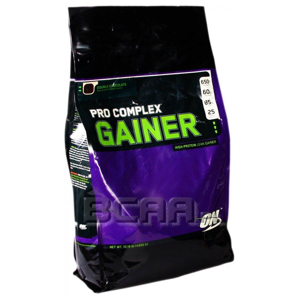 Pro Complex Gainer Optimum Nutrition 4620g • Sklep BCAA.pl