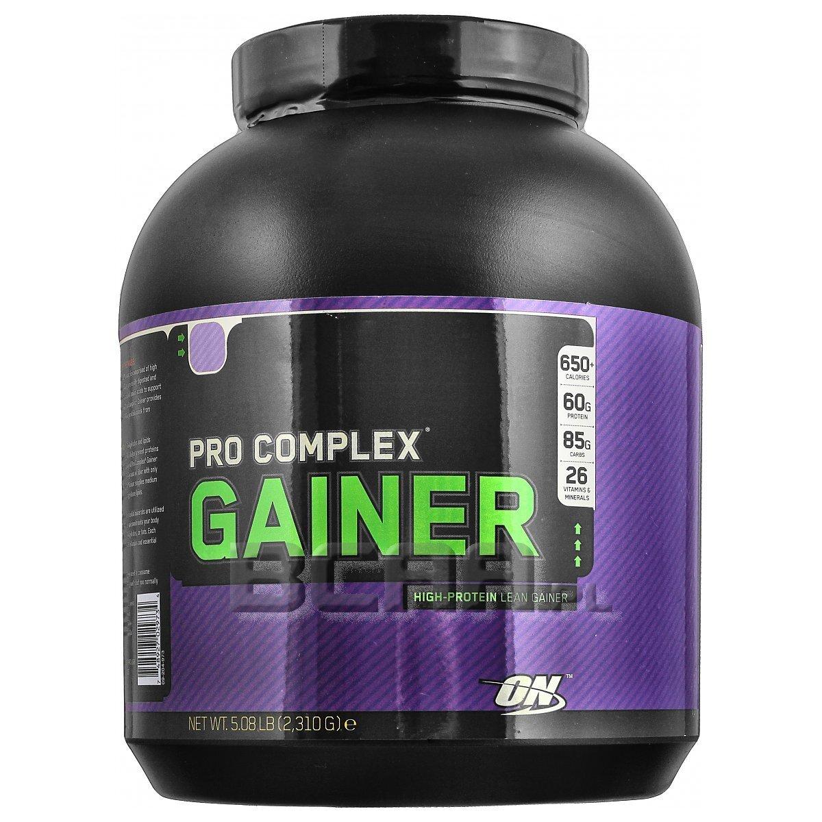 Pro Complex Gainer Optimum Nutrition 2310g Wyprzedaż ...