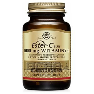Solgar Ester-C Plus 1000 mg Witaminy C 30tab. 1/1
