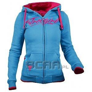 Trec Wear Bluza Hoodie TrecGirl ZIP 007 Sea Blue 1/2