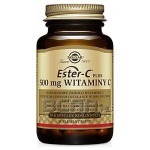 Solgar Ester-C Plus 500 mg Witaminy C 50kaps. 1/1