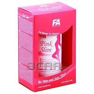 Fitness Authority Pink Slim 120kaps. 1/1