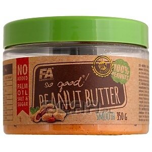 Fitness Authority So Good! Peanut Butter Smooth 350g 1/1