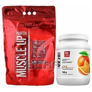 Activlab Muscle Up Protein + 100% LABS Econo BCAA 2000g+500g [promocja] 1/3