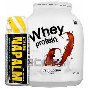 Fitness Authority Whey Protein + Napalm Shot GRATIS! 2270g + 60ml 1/1
