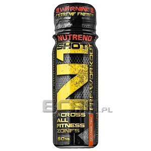Nutrend N1 Pre-Workout Shot 60ml 1/2