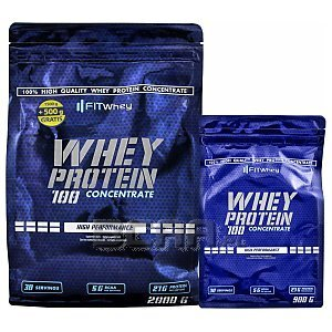 Fit Whey Whey Protein 100 Concentrate 2000g+900g [promocja] 1/3