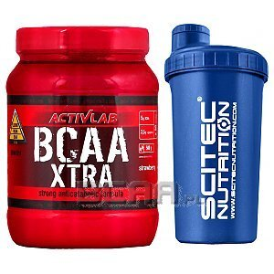 Activlab BCAA Xtra + Shaker 500g+700ml 1/1