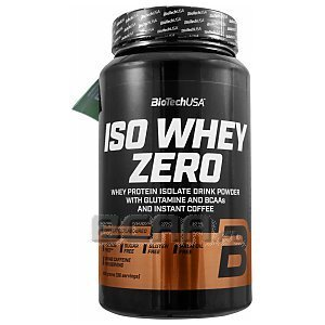 BioTech USA Iso Whey Zero with Real Coffee 908g [promocja] 1/3