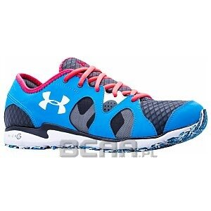 Under Armour Men's Micro G Neo Mantis Running Shoes 1247996-429 niebieski 1/3