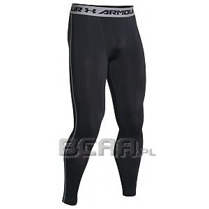 Under Armour Leginsy Męskie HeatGear® Armour® Compression Legging 1257474-001 czarny 1/4