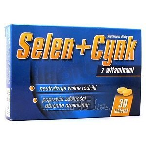 Selen + Cynk z witaminami 30tab. 1/1