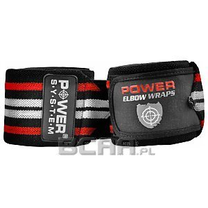 Power System Elbow Wraps Taśmy treningowe na łokcie (PS-3600)  1/2