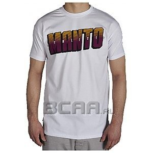 Manto T-shirt Athletic Purpurowy L 1/1