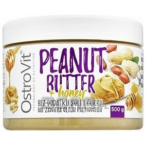 OstroVit Peanut Butter Honey 500g [promocja] 1/2