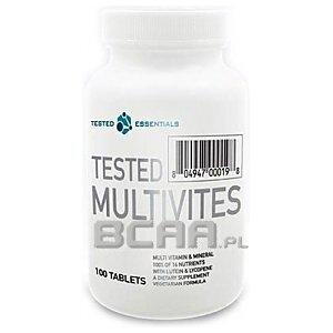 Tested Nutrition Tested Multivites 100tab. 1/1