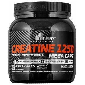 Olimp Creatine 1250 Mega Caps 400kaps. 1/1