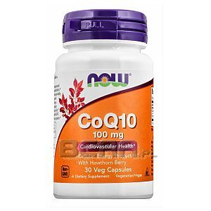 Now Foods CoQ10 100mg 30kaps. 1/1