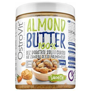 OstroVit 100% Almond Butter Smooth 1000g 1/2