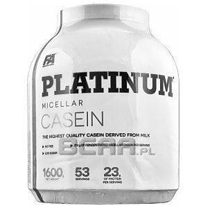 Fitness Authority Platinum Micellar Casein 1600g Czekolada 1/1