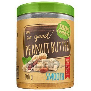 Fitness Authority So Good! Peanut Butter Smooth 900g 1/1