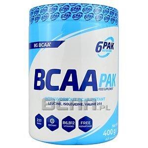 6Pak Nutrition BCAA Pak 400g 1/1