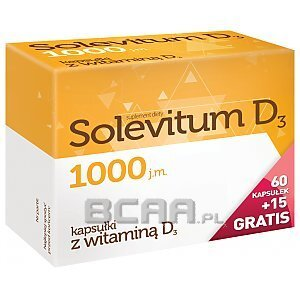 Solevitum D3 1000 60kaps.+15kaps. GRATIS! 1/1