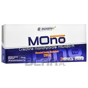 Biogenix Mono Creatine 120kaps. 1/1