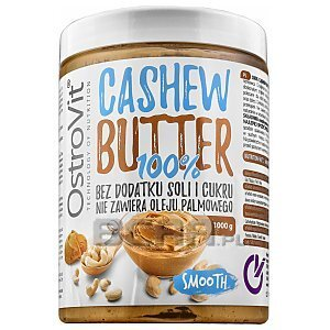 OstroVit 100% Cashew Butter Smooth 1000g 1/1