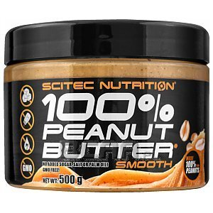 Scitec 100% Peanut Butter Smooth 500g 1/2