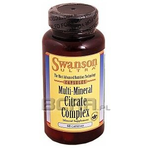 Swanson Multi-Mineral Citrate Complex 60kaps. 1/1