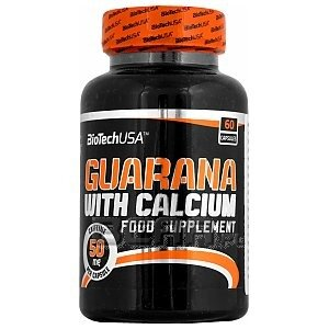 BioTech USA Guarana with Calcium 60kaps. 1/1