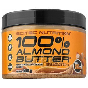 Scitec 100% Almond Butter Smooth 500g 1/2