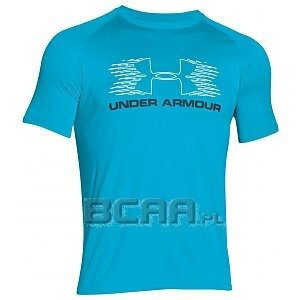 Under Armour Koszulka Męska Movement SportStyle SS T 1271721-987 jasnoniebieski 1/6
