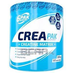 6Pak Nutrition Crea Pak 330g 1/1