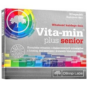Olimp Vita-Min Plus Senior 30kaps. 1/1