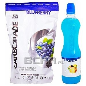 Fitness Authority Carborade + Carborade Drink 1000g + 750ml 1/1