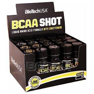 BioTech USA BCAA Shot 20 x 60ml 1/2