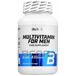 BioTech USA Multivitamin for Men 60tab. 1/3