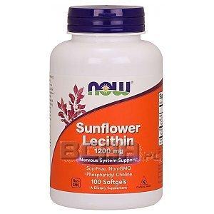 Now Foods Sunflower Lecithin 1200mg 100kaps. 1/1