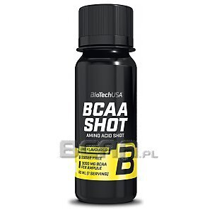 BioTech USA BCAA Shot 60ml 1/2