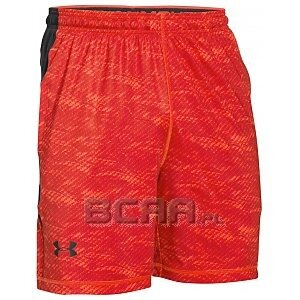 Under Armour Spodenki Męskie Raid 8 Printed Short 1257826-984 mix 1/6