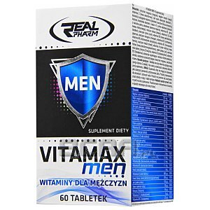 Real Pharm VitaMax Men 60tab. [promocja] 1/3